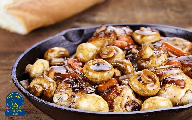 کوک اوون فرانسوی با قارچ, هاگ