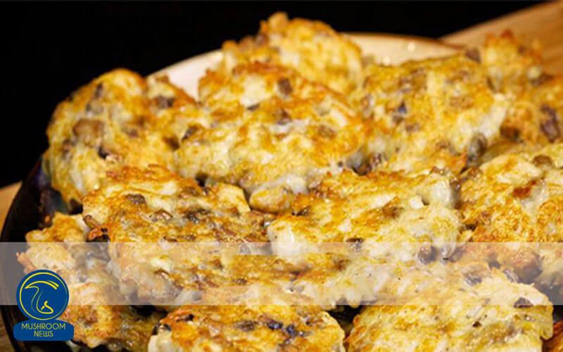کتلت مرغ با قارچ و پنیر, هاگ