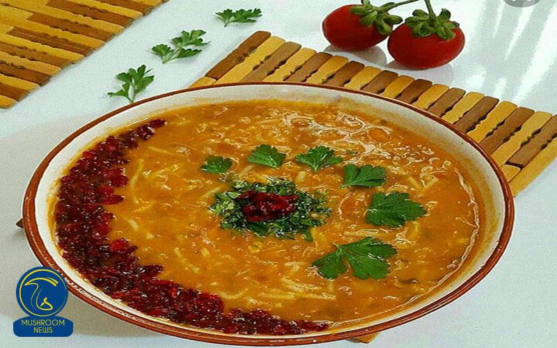 سوپ زرشک و قارچ, هاگ