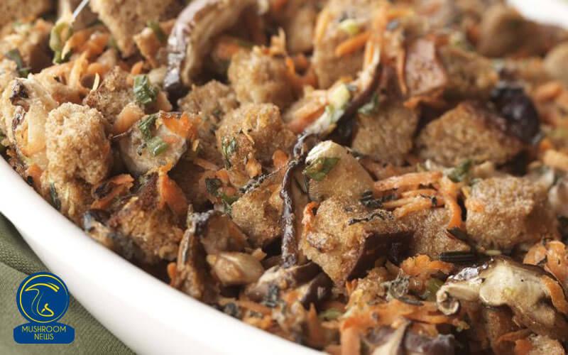 خوراک هویج و قارچ, هاگ