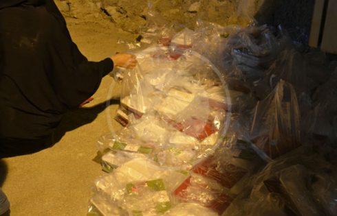توزیع ۲۰۰۰ قیمه قارچ و قلیه قارچ در بقعه متبرکه شیخ عبدالله طرشتی, هاگ