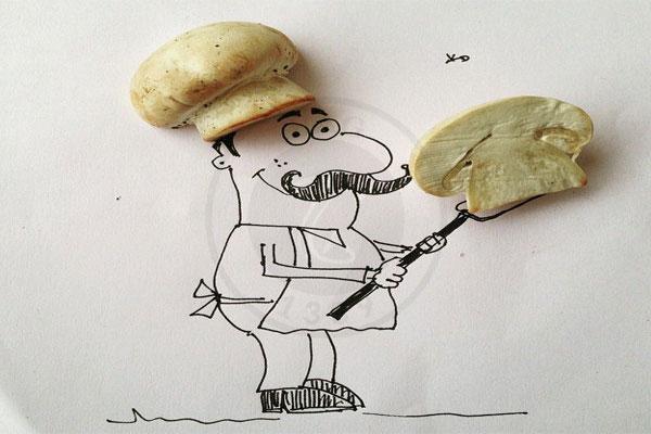 چرا سرآشپزها عاشق قارچ هستند؟, هاگ