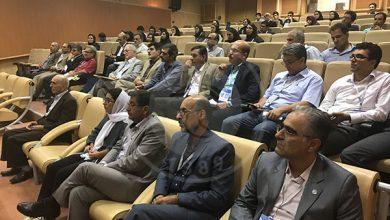 تصویر از گردهمایی علمی در کنگره قارچ شناسی ایران