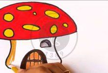 آموزش نقاشی خونه قارچی, هاگ