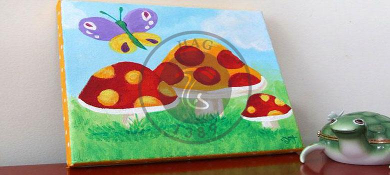 نقاشی قارچ
